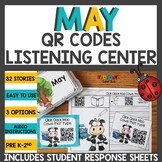 May QR Codes Listening Center Bundle