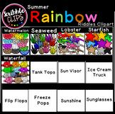 Summer Rainbow Riddles Clipart