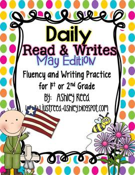 May Read and Writes {Daily Fluency Practice Plus Writing Prompts}