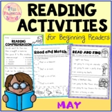 May Reading Activities for Beginning Readers