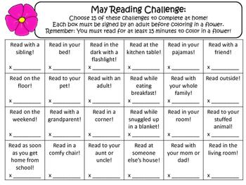 NO PREP May Reading Challenge!