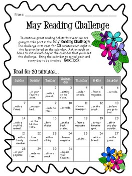 May 2019 Reading Challenge