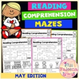 May Reading Comprehension Mazes