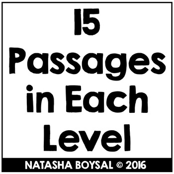 """May Reading Comprehension Passages with """"WH"""" Questions (Leveled)"""