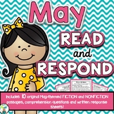 May Reading Comprehension & Written Response