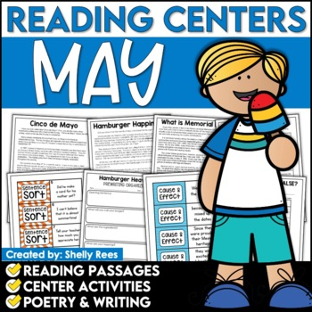Reading Comprehension Passages - May Reading Unit