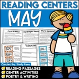 Memorial Day Reading Comprehension Passages and Questions - May Reading Unit