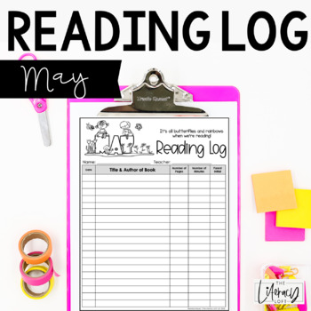 Reading Log {May}