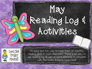 May Reading Log Packet for Intermediate Students