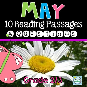 May Reading Passages with Questions ~ Nonfiction Reading Passages