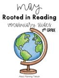May Rooted in Reading Vocabulary Slides (3rd Grade)