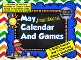 May SMARTboard Calendar and Games!