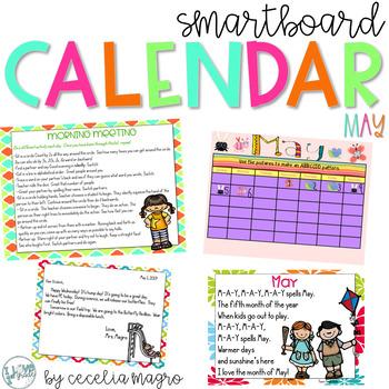 May SMARTBoard Calendar Morning Meeting