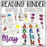 May SPED Adapted Reading Binder