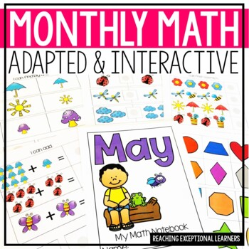 May SPED Math Adapted Workbook