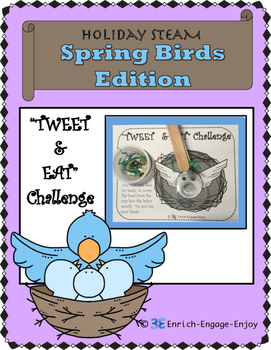 May STEM STEAM Challenge: Spring Birds Edition Mother's Day