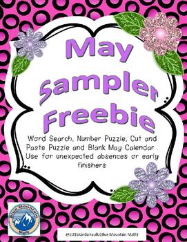 May Sampler Freebie