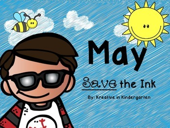 May Save the Ink- Math and Literacy Printables