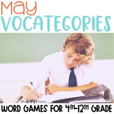 May Scattergories Games