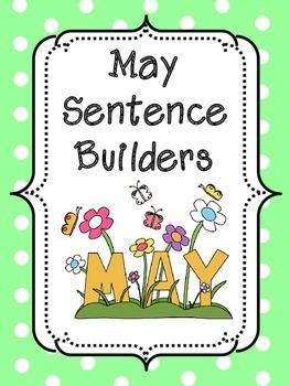 May Sentence Builders