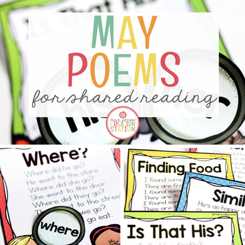 May Shared Reading (Sight Word Poems)