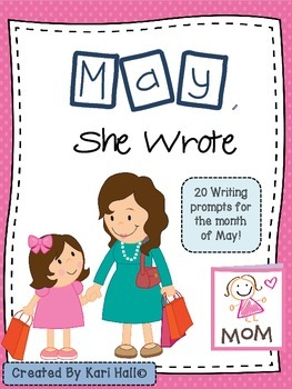 May, She Wrote! My May Writing Journal {20 prompts}