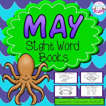 May Sight Word Books