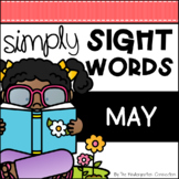 May Sight Word Games and Centers - Editable