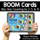 May Skip Counting by 2, 5 & 10 Boom Cards™