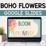 May Slides Templates | Daily Agenda Google Slides | Spring