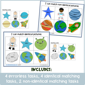 May / Space Themed Sorting & Matching Activities