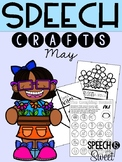 May: Speech Therapy Crafts