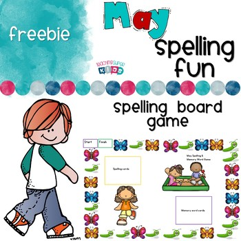 May Spelling Game