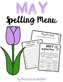 May Spelling Menu (NO PREP!)