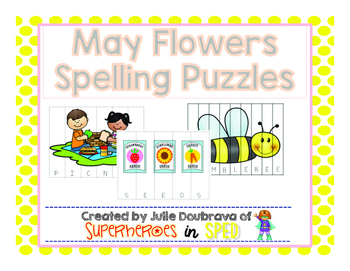 May Spelling Puzzles
