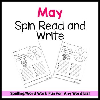 May Spin Read and Write FREEBIE