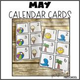 May (Summer) Calendar Cards