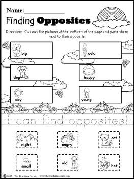 May Spring Family NO PREP Kindergarten Super Pack!