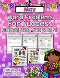 May / Spring Word Problems {For Success!}