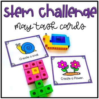 May Stem Challenge Using LEGO Bricks