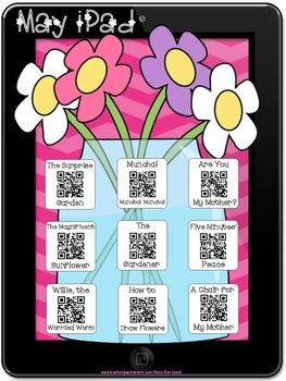 May Stories~Scan QR Codes or Click for Hyperlink~for Liste