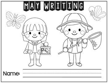 May Picture Prompt Writing Pops