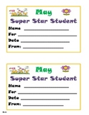 May Super Star Student Award