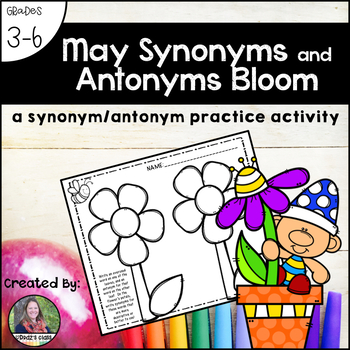 May Synonyms and Antonyms Bloom
