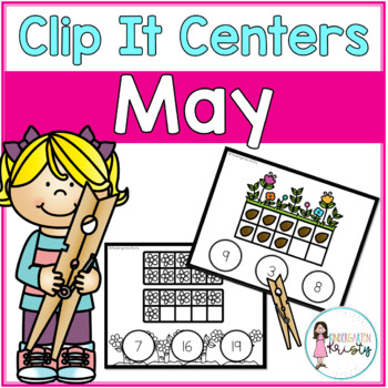 May Tens Frame Clip It Centers
