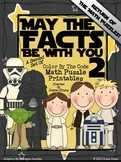 May The Facts Be With You 2 ~ Math Set Of Color By The Num