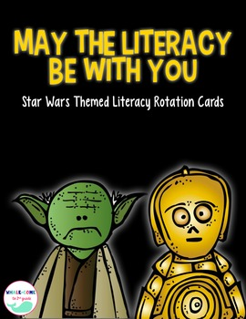 May The Literacy Be With You: Literacy Rotation Display