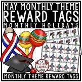 May Theme Brag Tags [Cinco de Mayo, End of Year & more]