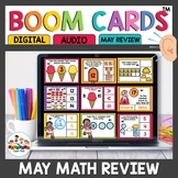 May Themed Boom Cards Math Bundle
