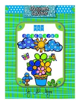 May Themed BragMarks {Spring}